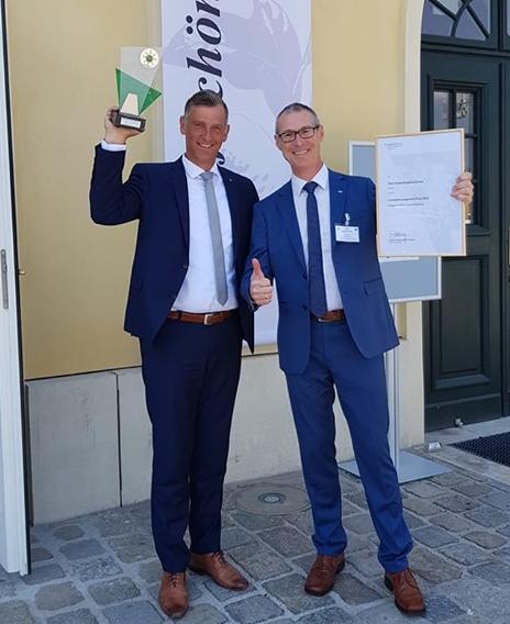 """Umweltmanagementpreis 2019 in der Kategorie """"Beste Umwelterklärung"""""""