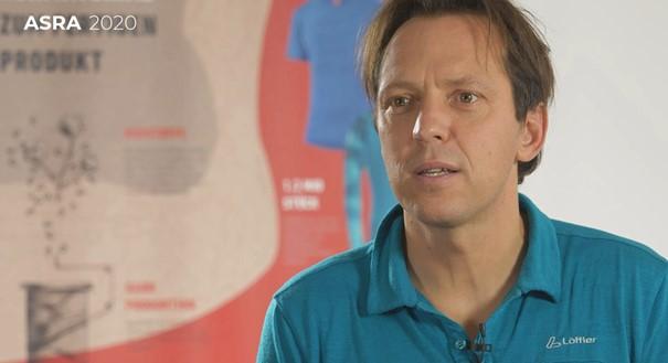 Marketingleiter Jörg Tichy spricht über die Bedeutung des Nachhaltigkeitsberichts für die Marke Löffler